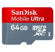 Sandisk microSDXC Mobile Ultra 64 Go