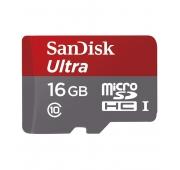 Sandisk Ultra microSDHC UHS-I Class 10 16GB