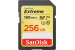 Sandisk Extreme 256 Go SDXC UHS-I Classe 10 U3 V30 150 Mo/s