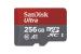 Sandisk Ultra microSDXC UHS-I C10 A1 256 Go